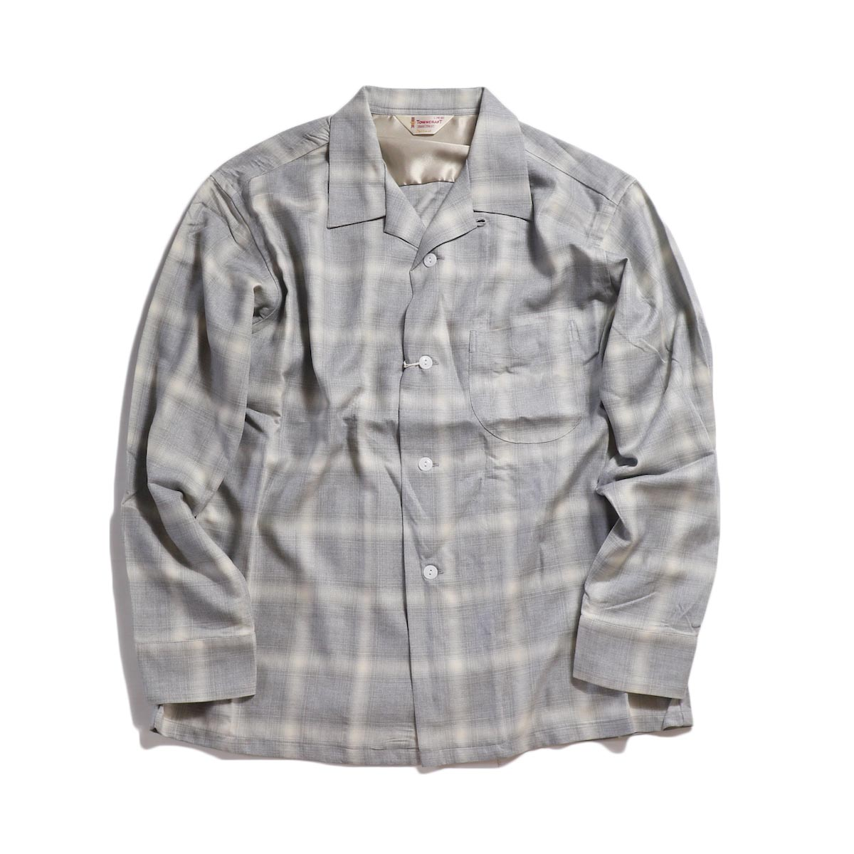 TOWN CRAFT / OMBLE OPEN SHIRTS -Gray