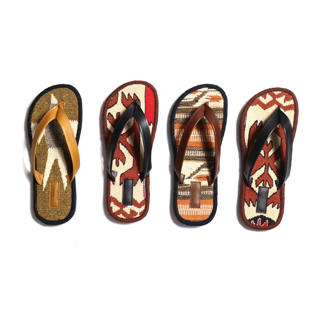TREADs / Rug Sandal -VINTAGE (size4)