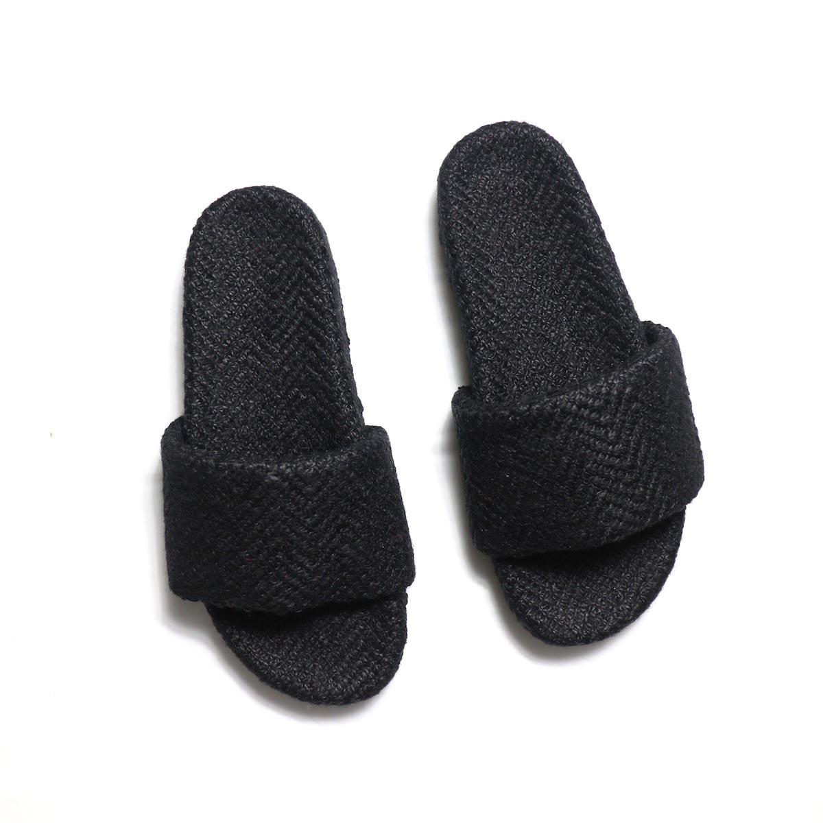 TREADs / Slide Sandal - JUTE (BLACK)