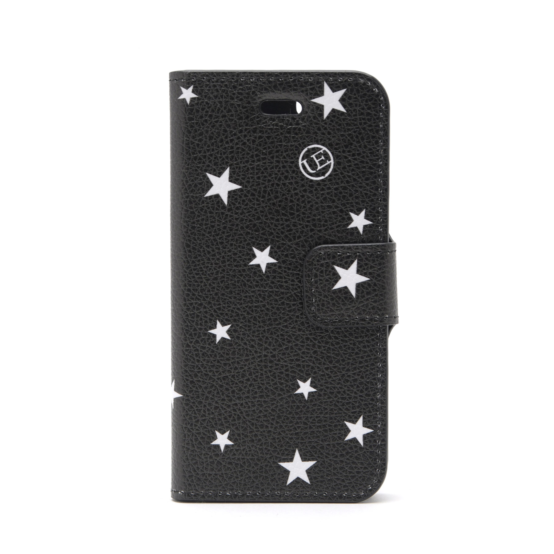 uniform experiment / STAR FLIP CASE (for iPhone 8 ) -black