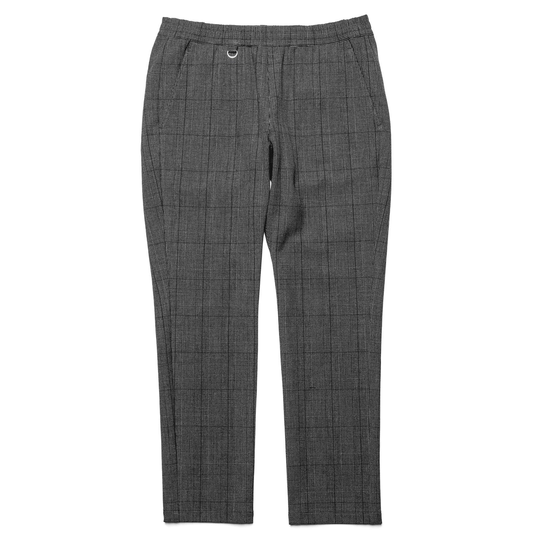 uniform experiment / SLIM FIT CHECK EASY SLACKS -GRAY