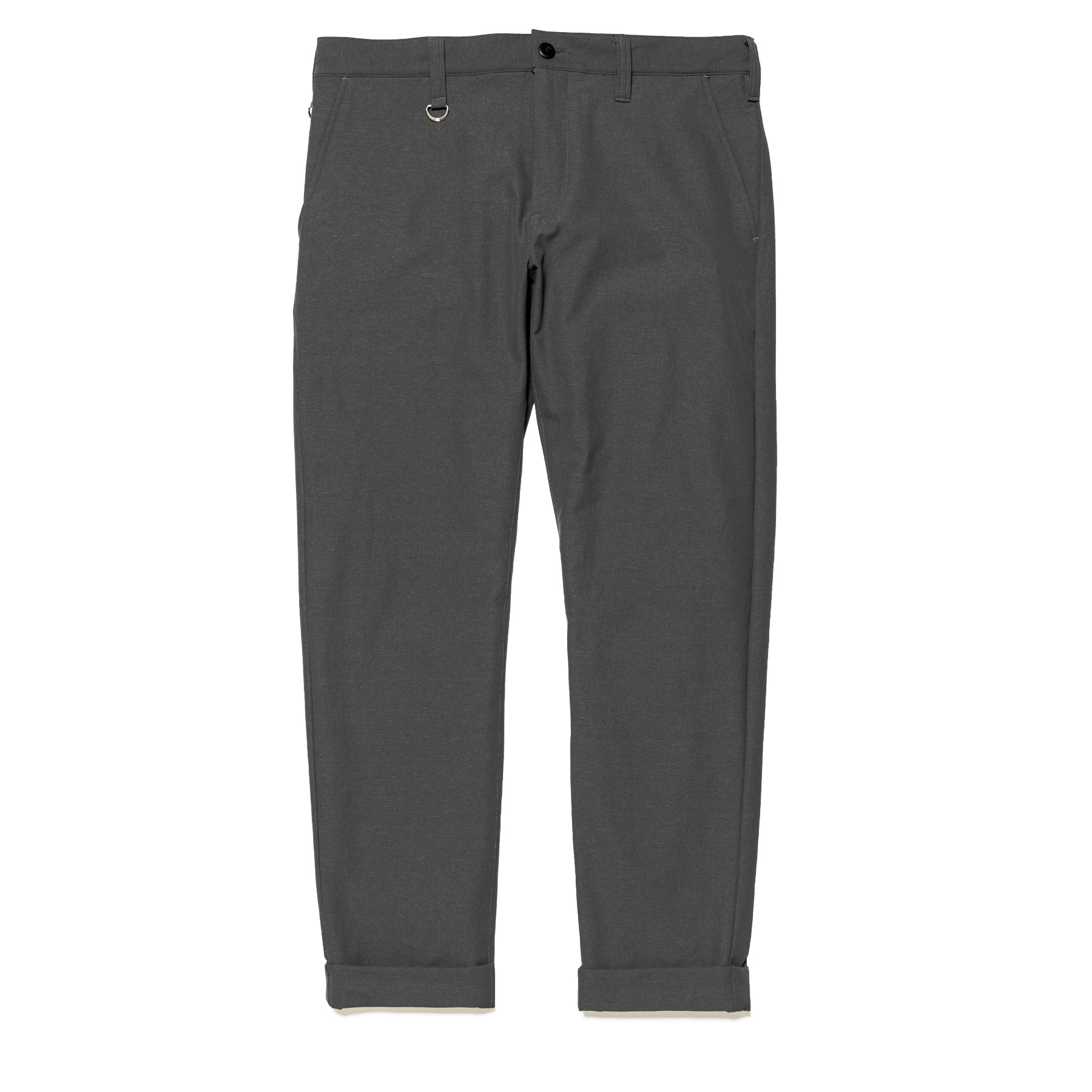 uniform experiment / 4WAY STRETCH CROPPED PANTS -Gray