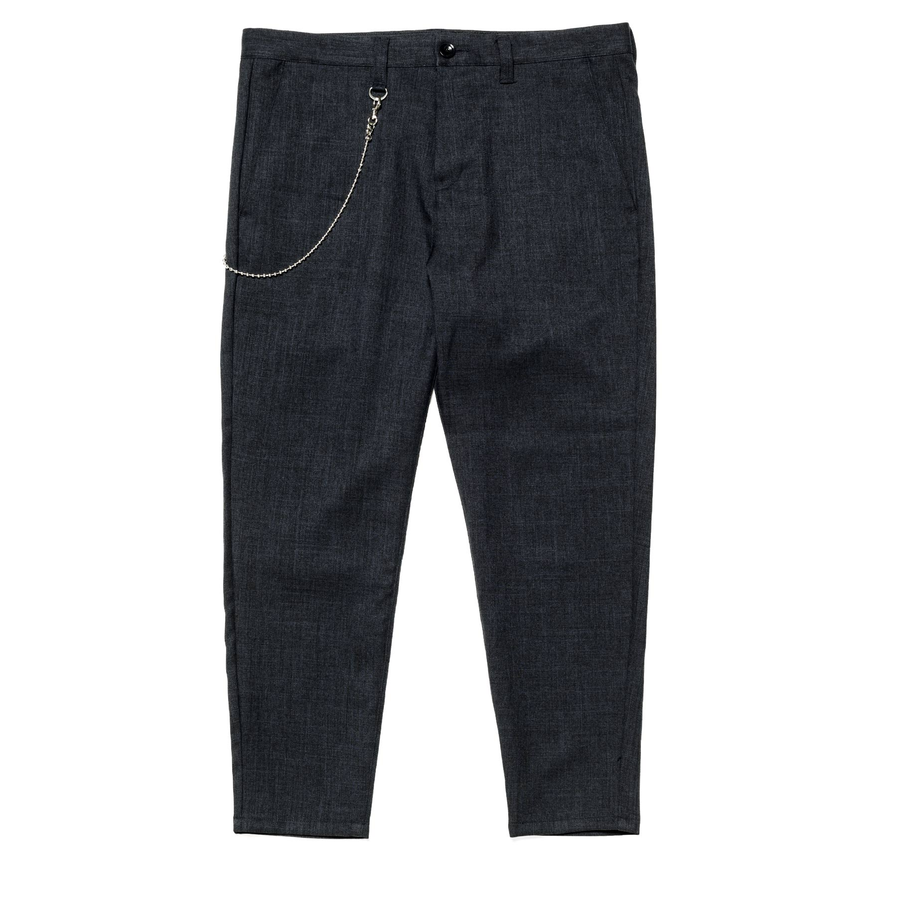 uniform experiment / CARROT FIT CROPPED PANTS -Navy