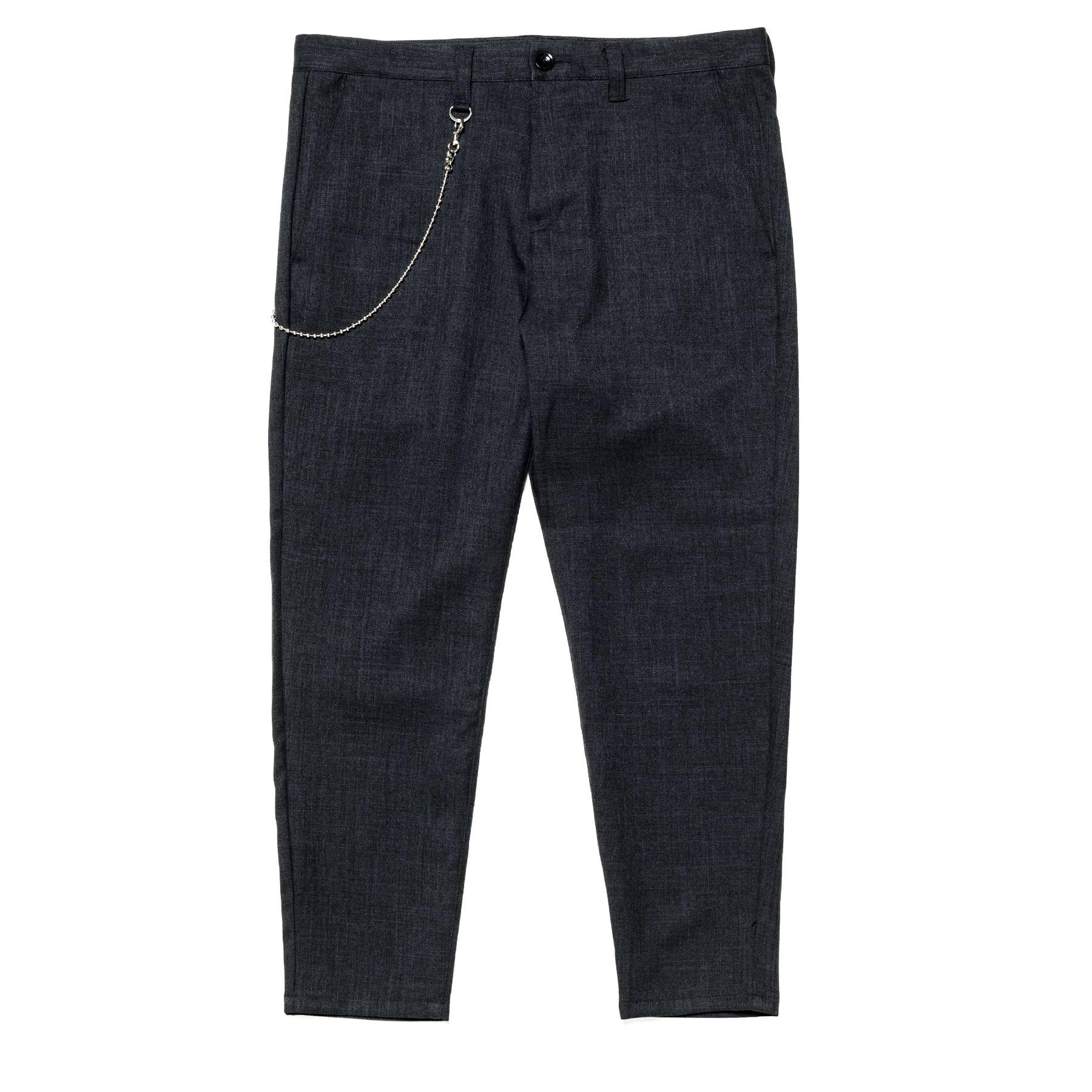 uniform experiment / CARROT FIT CROPPED PANTS -Navy