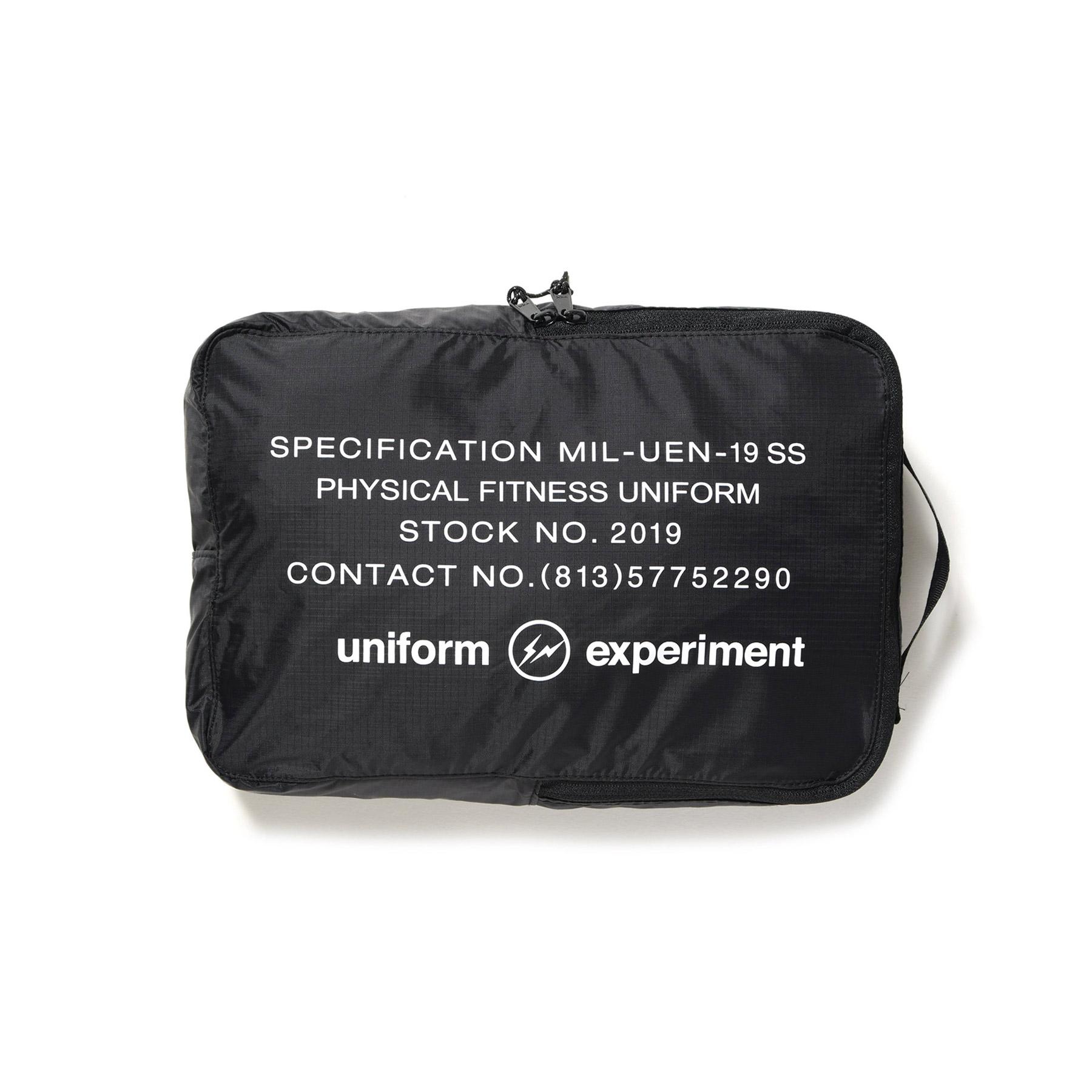 uniform experiment / UEN SMALL PACK CUBE -Black