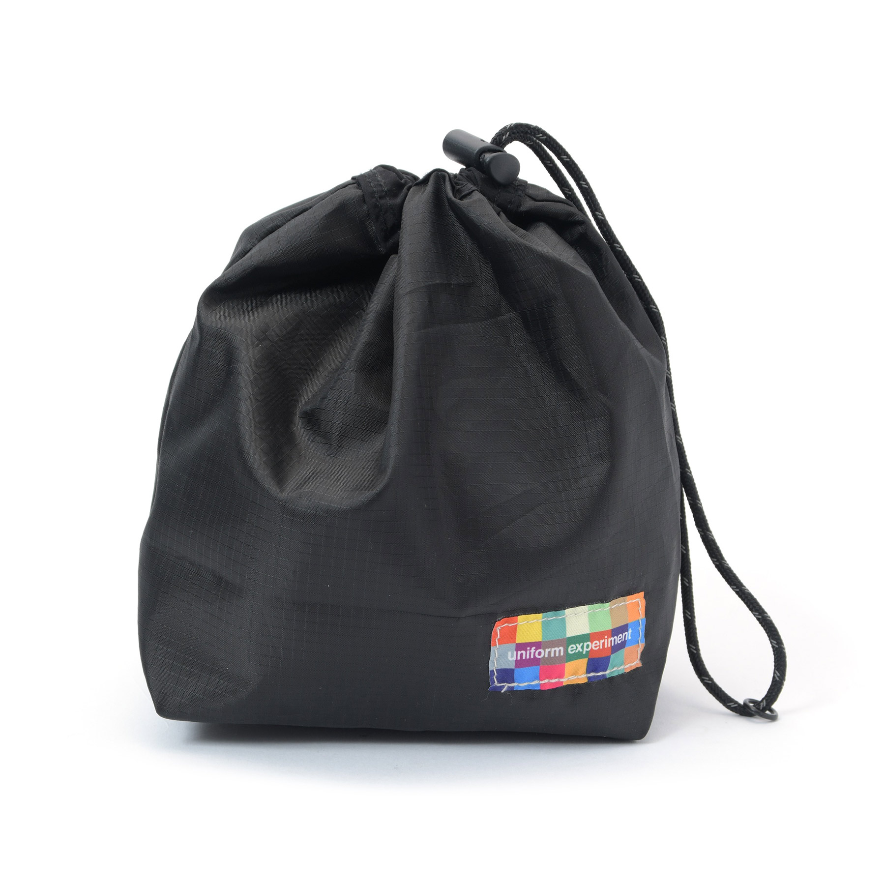 uniform experiment / RIP STOP POUCH -Black