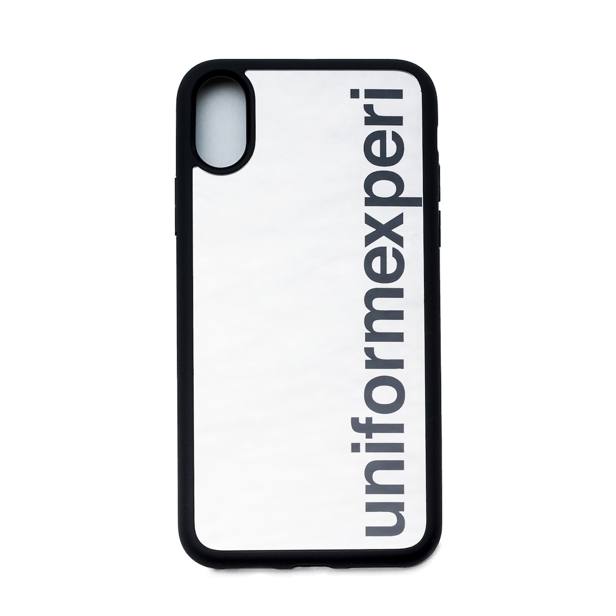 uniform experiment / MIRROR PHONE CASE for iPhone X -Silver