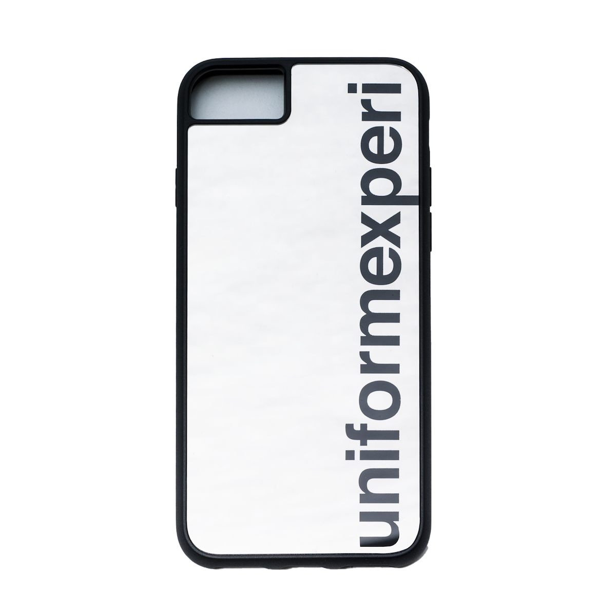 uniform experiment / MIRROR PHONE CASE for iPhone 6/7/8 -Silver