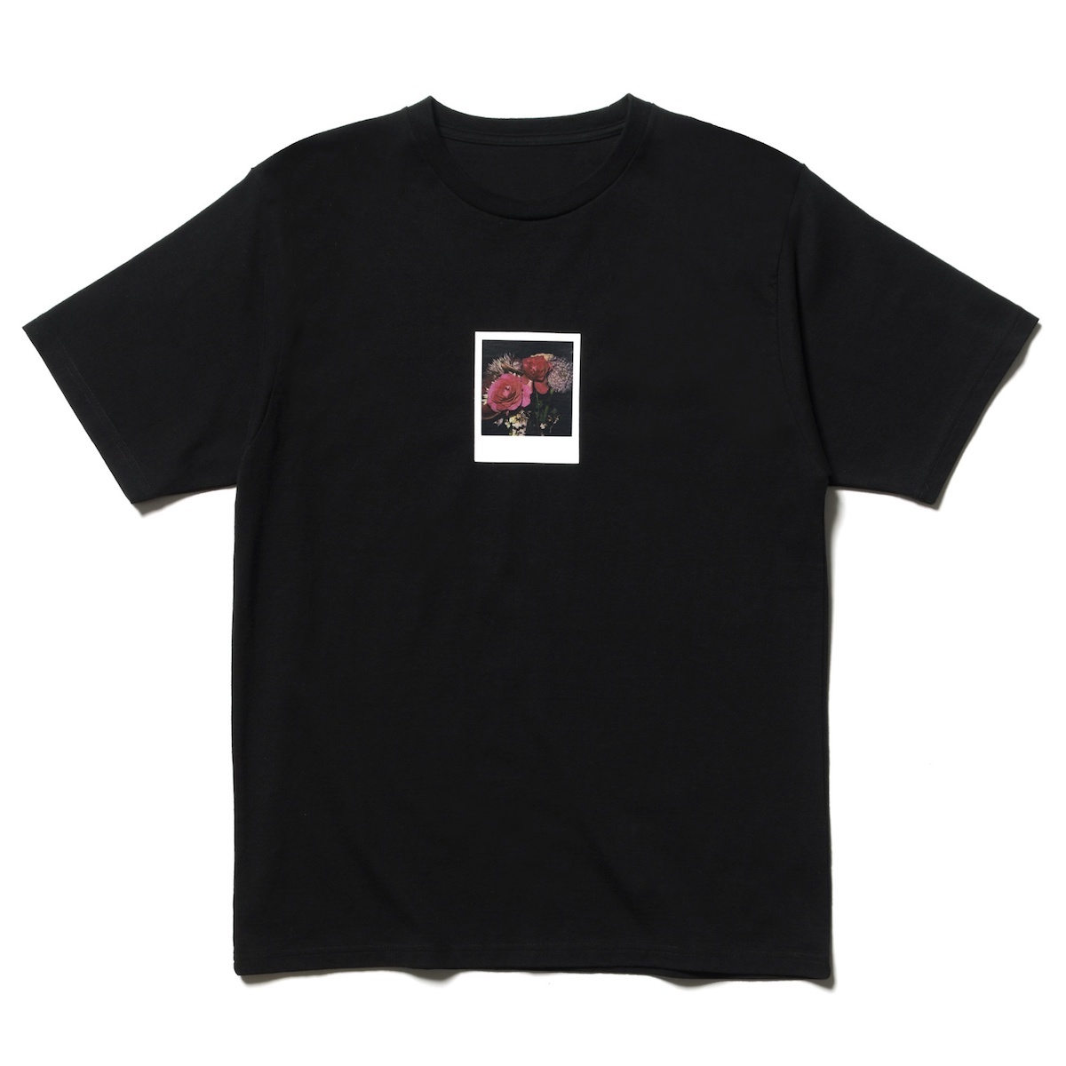 uniform experiment / ARAKI POLAROID TEE -Black