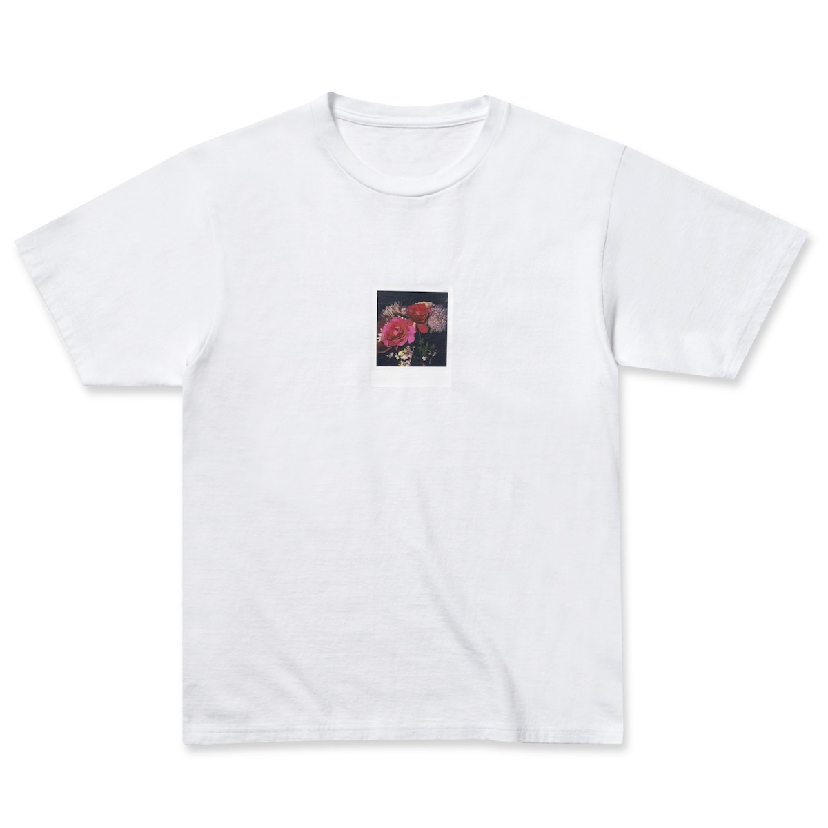 uniform experiment / ARAKI POLAROID TEE -White