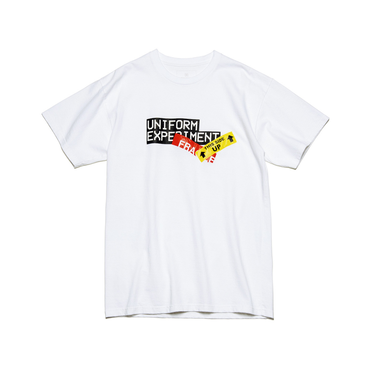 uniform experiment / UE ATTENTION TAG TEE (White)