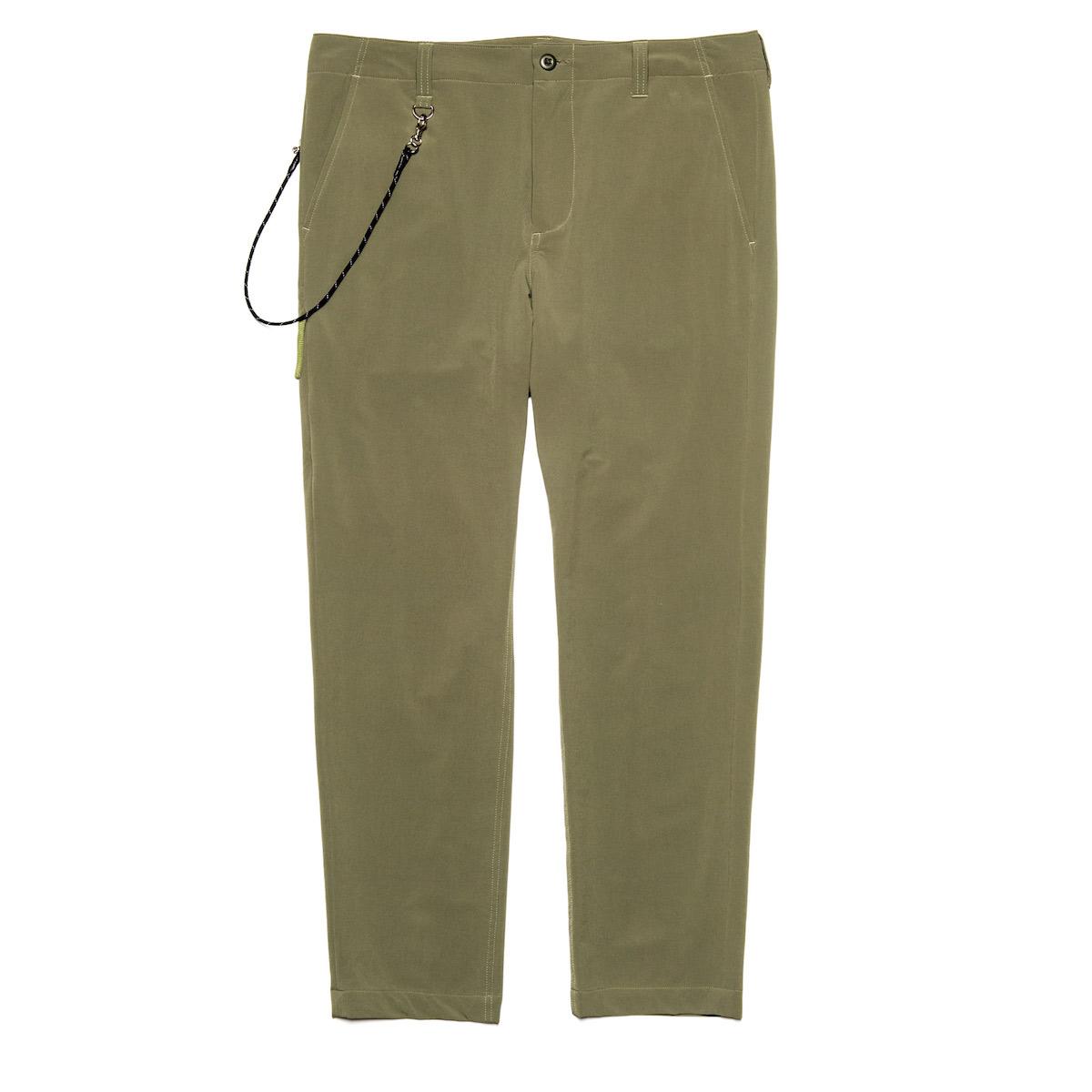 uniform experiment / STRETCH POPLIN SIDE POCKET TAPERED PANTS (Khaki)