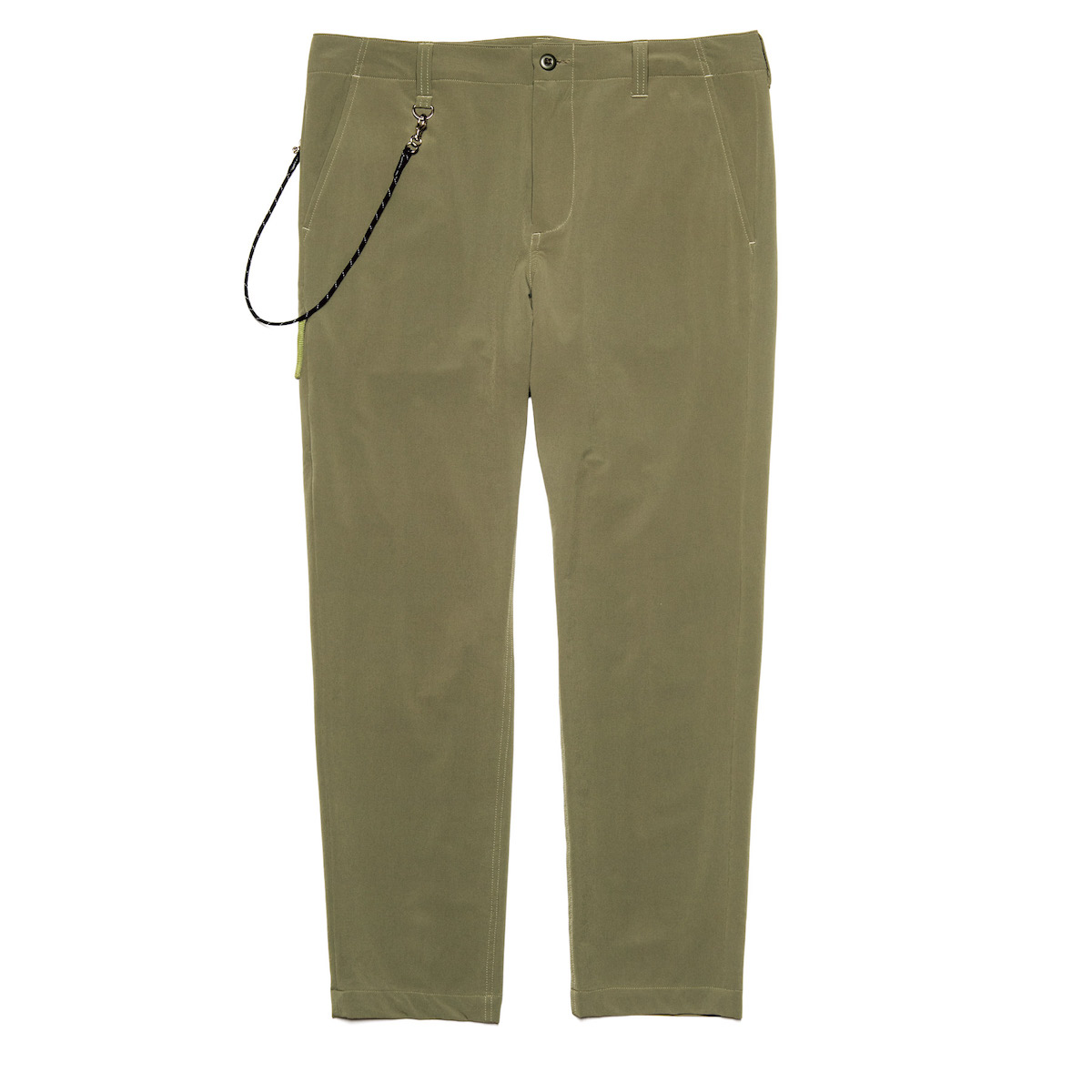 uniform experiment / STRETCH POPLIN SIDE POCKET TAPERED PANTS (Khaki)