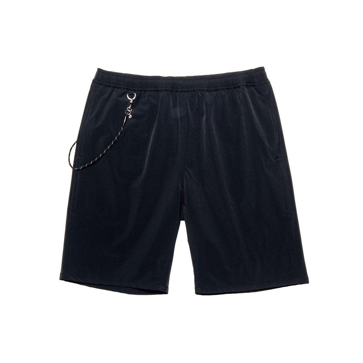 uniform experiment / STRETCH POPLIN EASY SHORTS (Black)