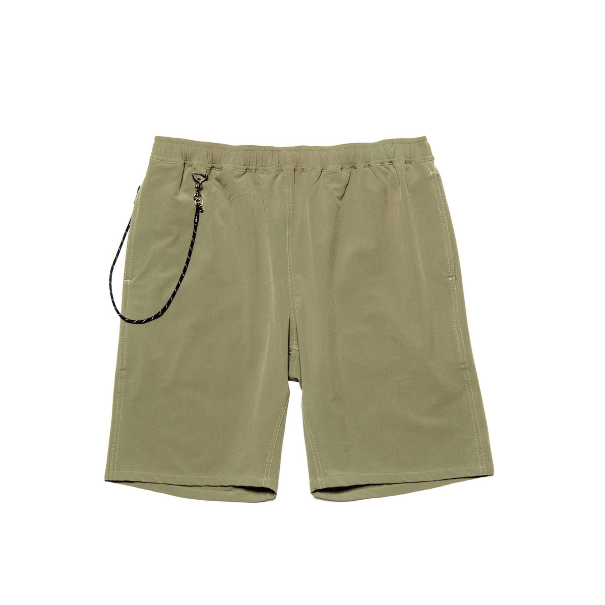 uniform experiment / STRETCH POPLIN EASY SHORTS (Khaki)