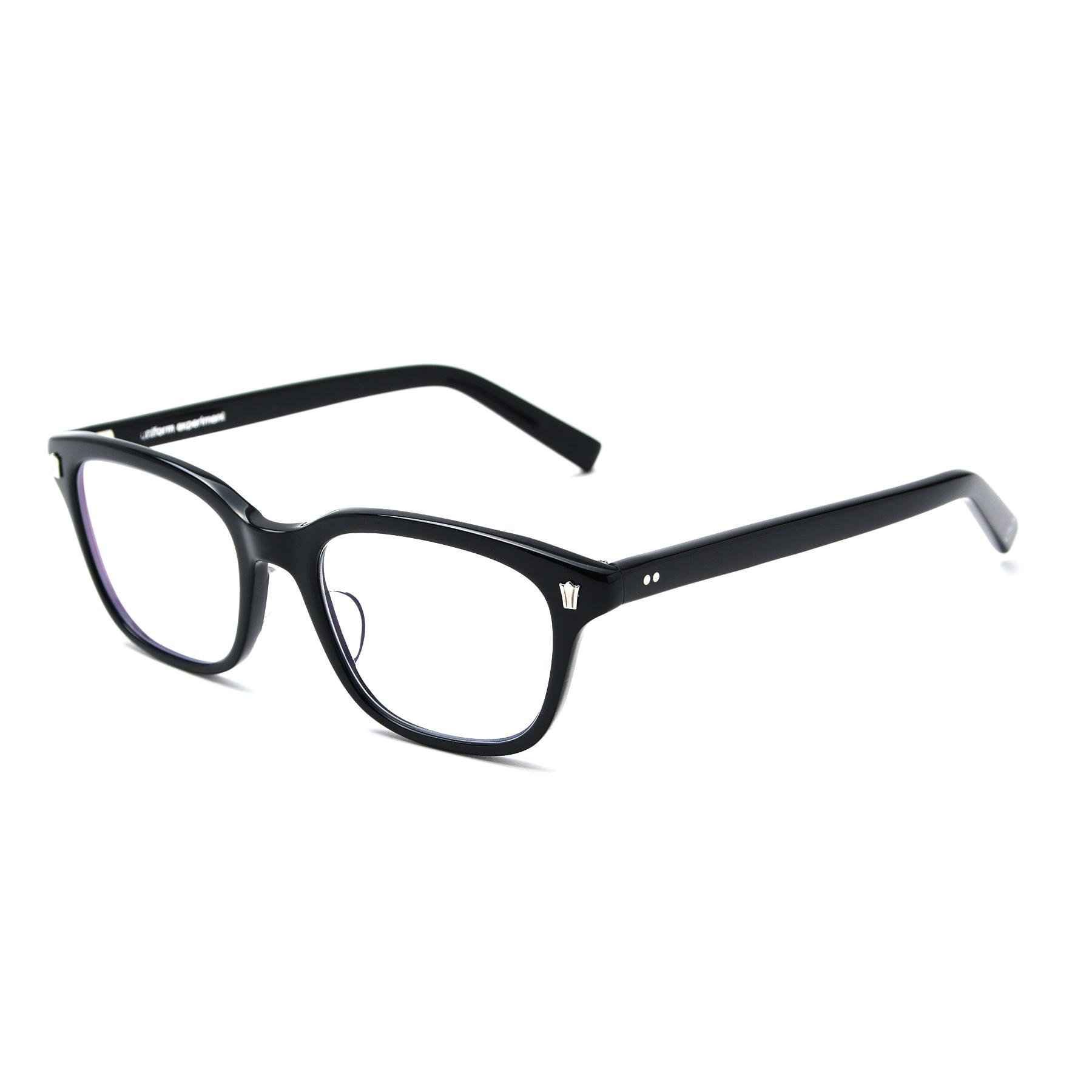 uniform experiment / 泰八郎謹製 GLASSES (Black)
