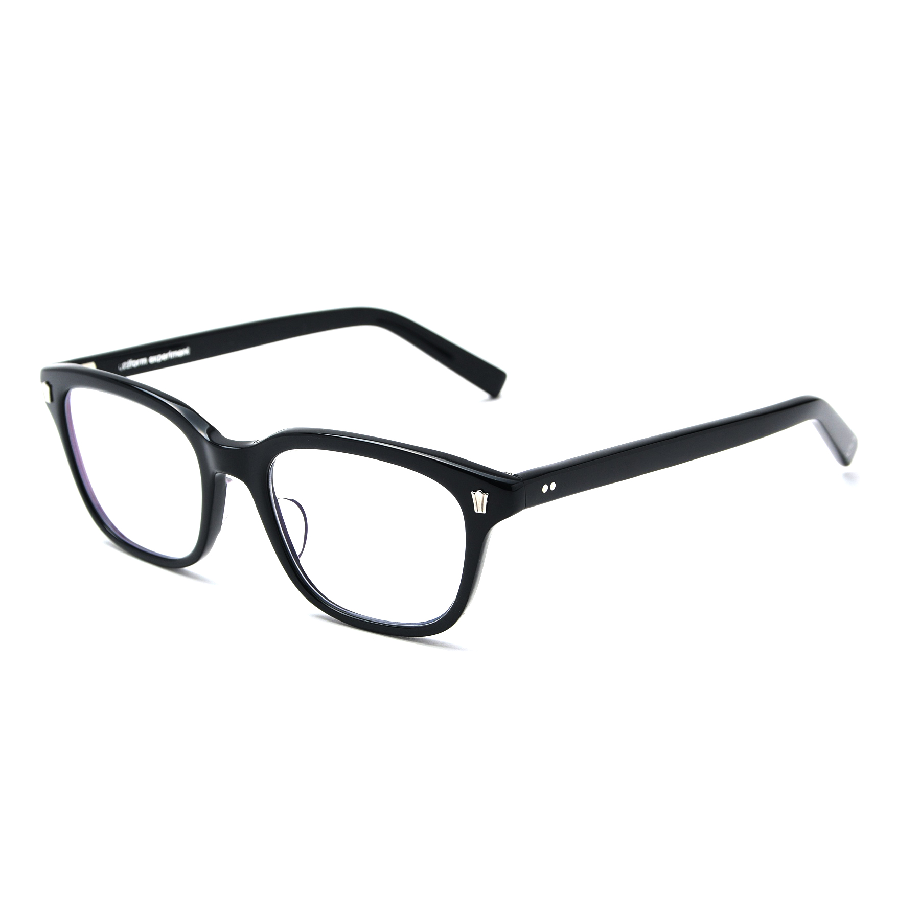 uniform experiment / 泰八郎謹製 GLASSES (Black)