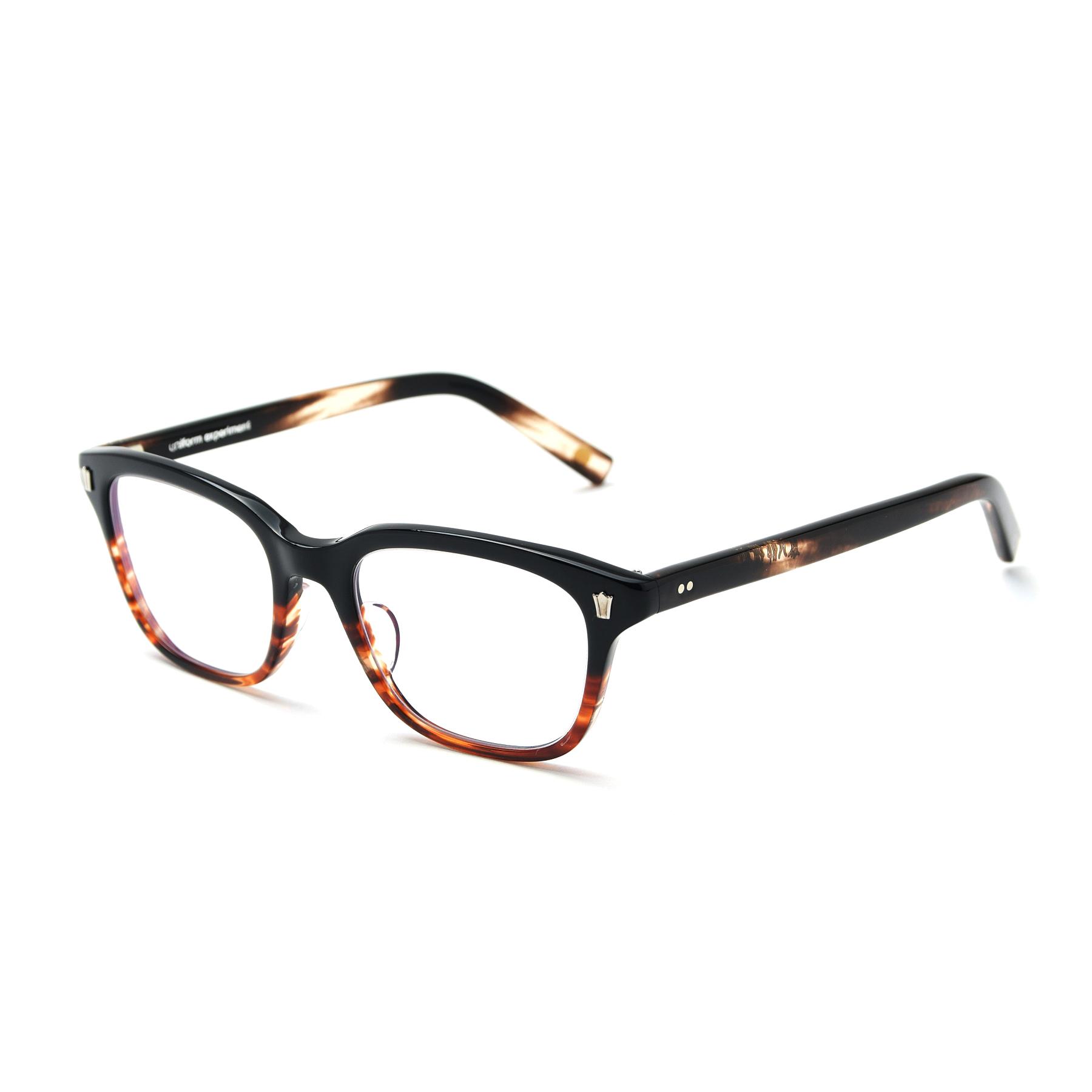 uniform experiment / 泰八郎謹製 GLASSES (Brown)