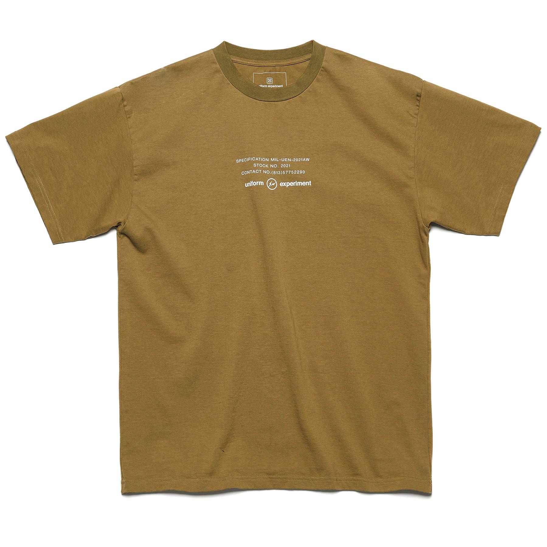 uniform experiment / MIL TEE (Khaki)