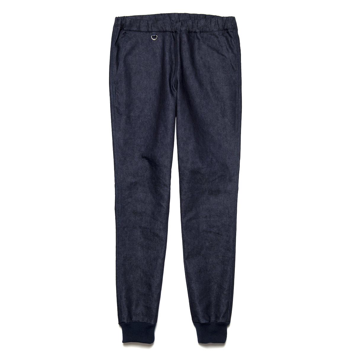 uniform experiment / SLIM-FIT RIBBED EASY PANT