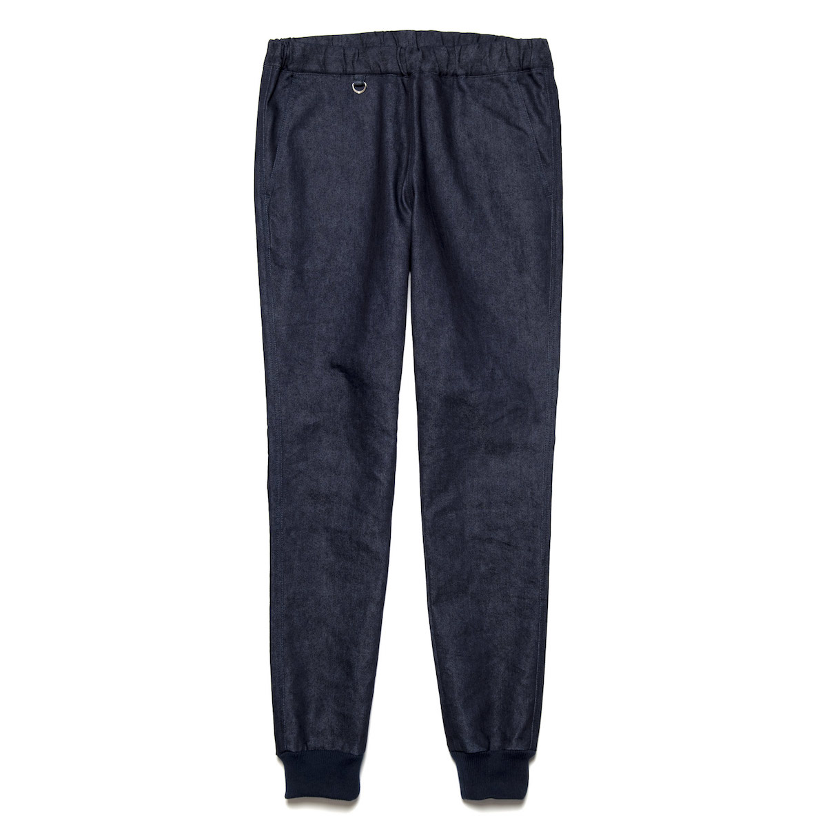 uniform experiment / SLIM-FIT RIBBED EASY PANT