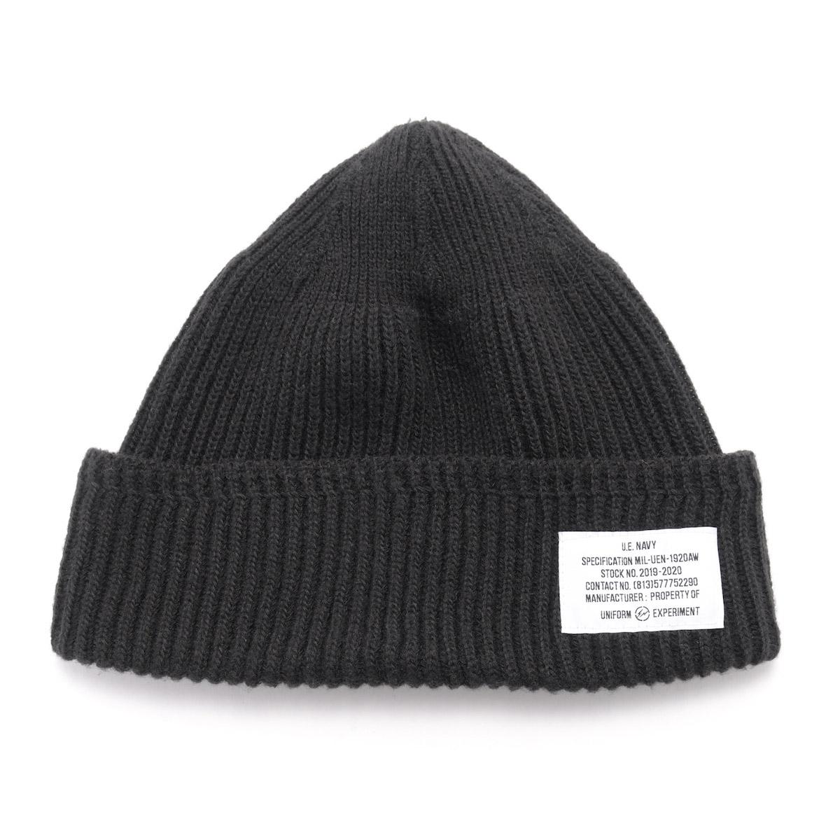 uniform experiment / UEN WATCH CAP (Black)