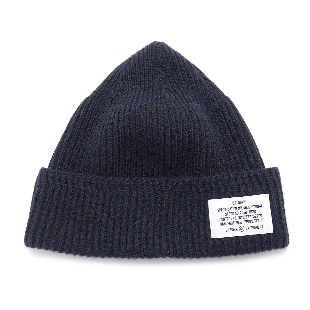 uniform experiment / UEN WATCH CAP (Navy)