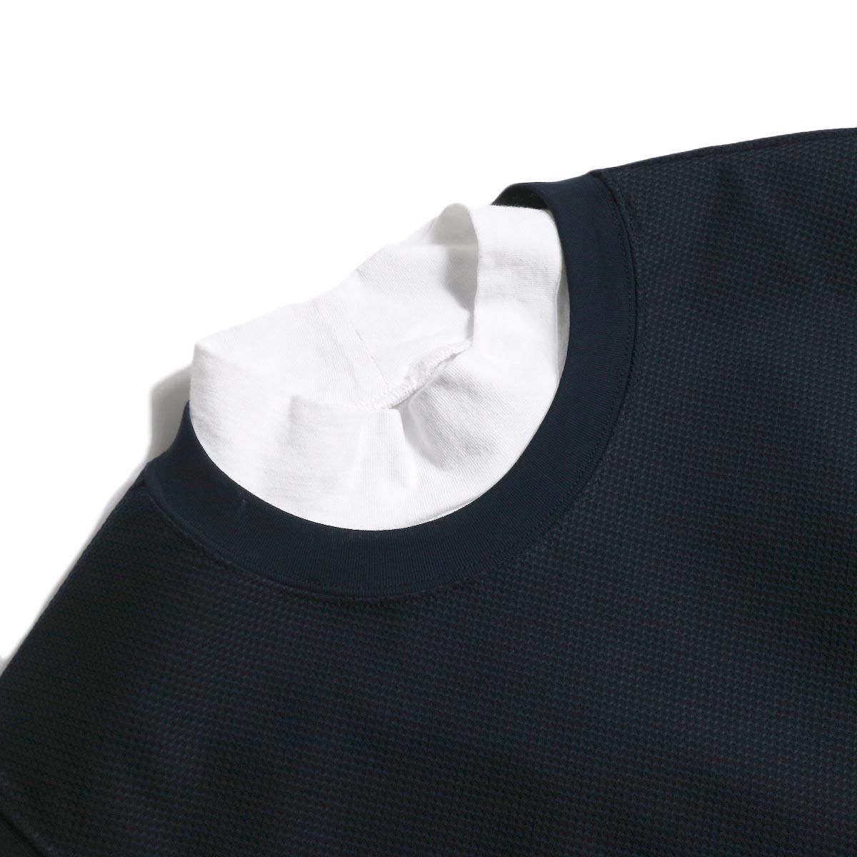 UNIVERSAL PRODUCTS /  PIQUE VEST (Navy) 襟