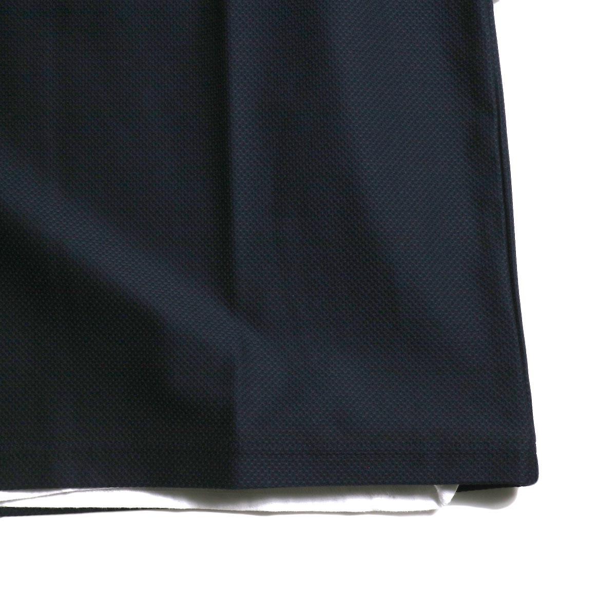 UNIVERSAL PRODUCTS /  PIQUE VEST (Navy) 裾