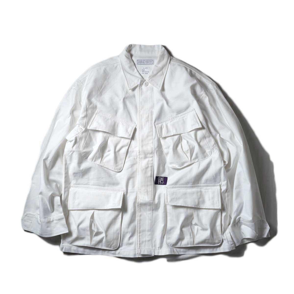 UNIVERSAL PRODUCTS / Gung Ho Fatigue Jacket (Ivory)
