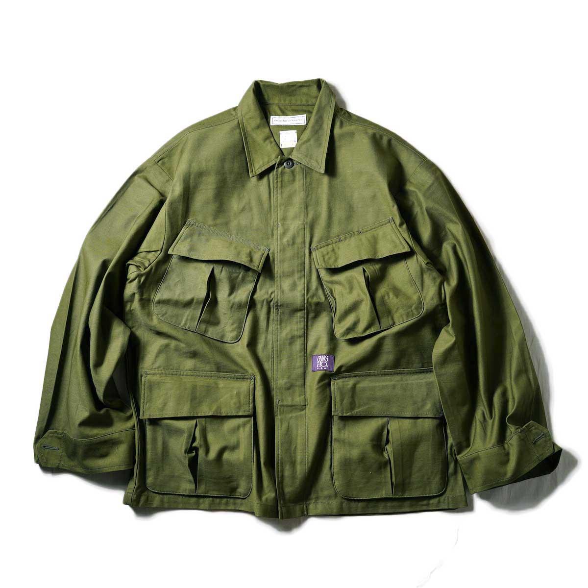 UNIVERSAL PRODUCTS / Gung Ho Fatigue Jacket (Olive)