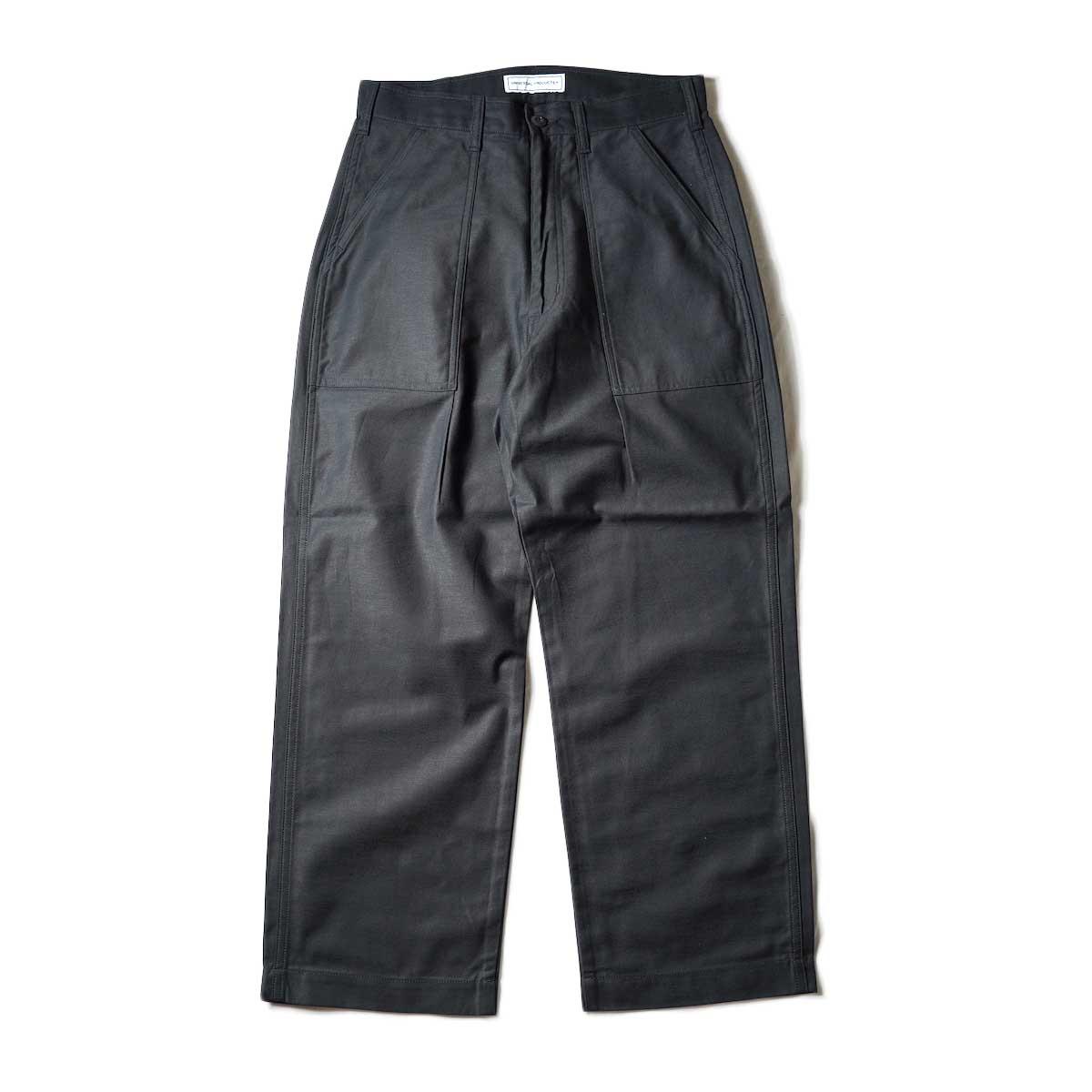 UNIVERSAL PRODUCTS / Gung Ho 1tuck Baker Pants (Black)