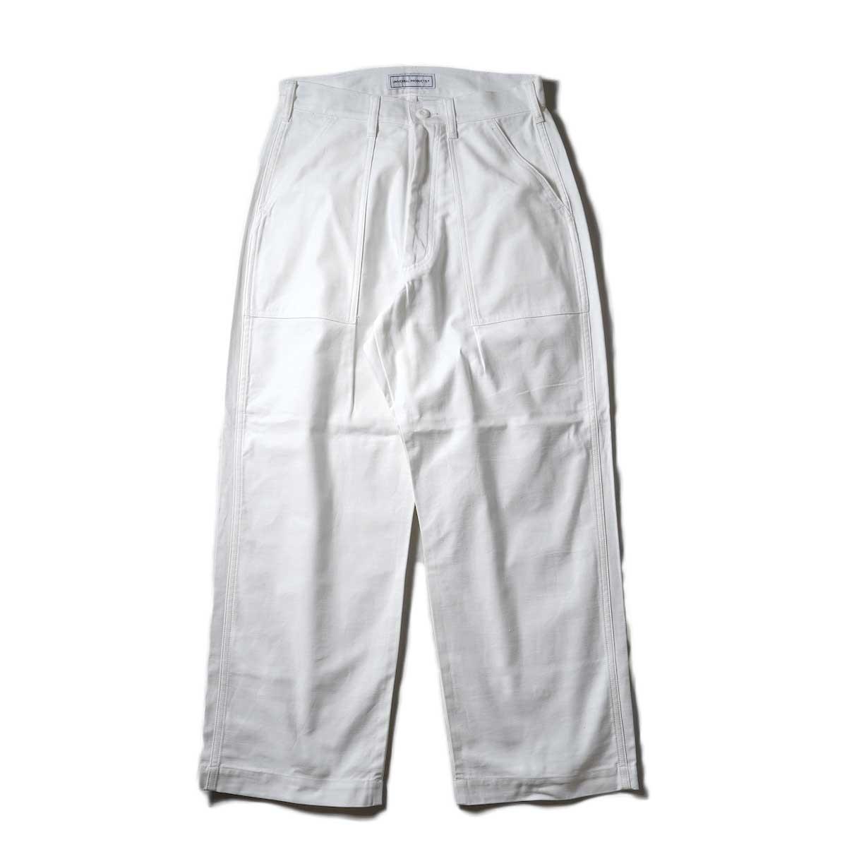UNIVERSAL PRODUCTS / Gung Ho 1tuck Baker Pants (Ivory)