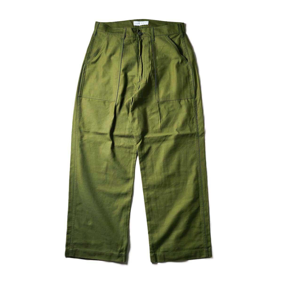UNIVERSAL PRODUCTS / Gung Ho 1tuck Baker Pants (Olive)