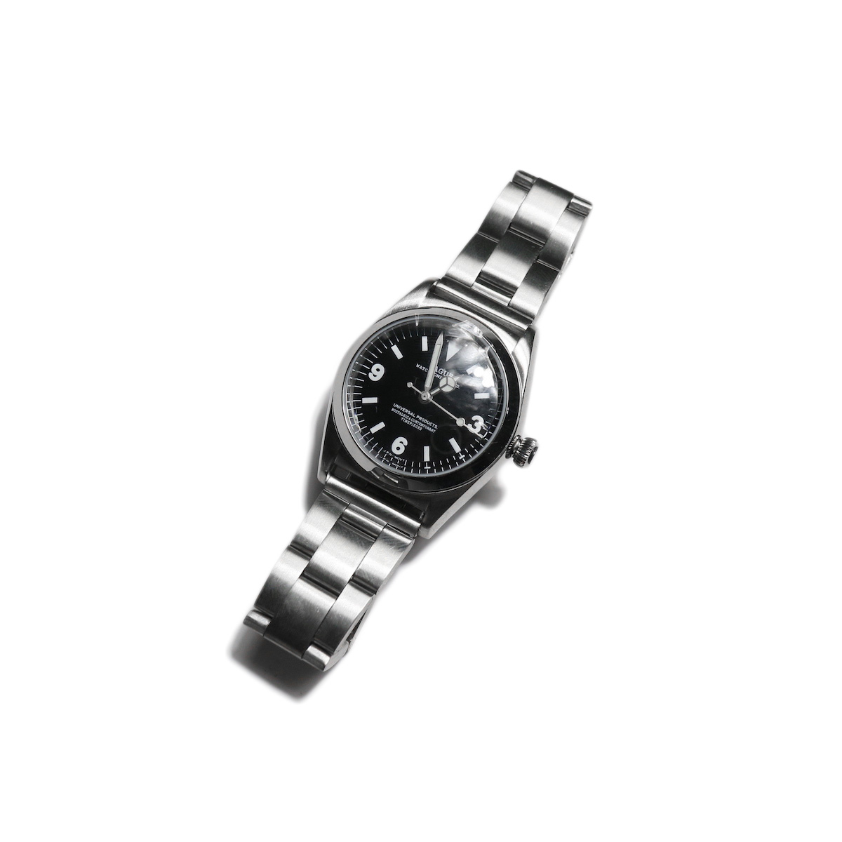 UNIVERSAL PRODUCTS × VAGUE WATCH BB EX1  -Stainless