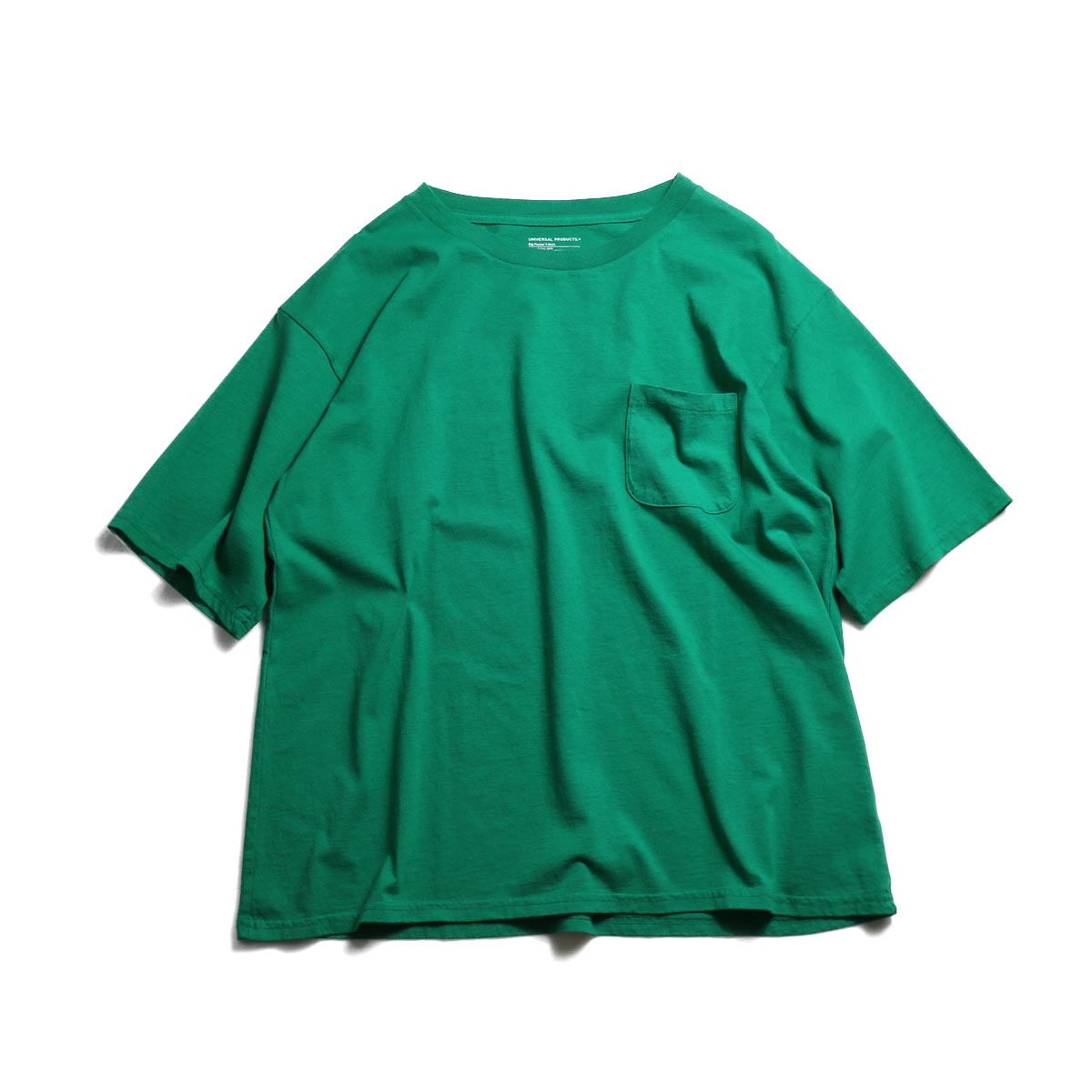 UNIVERSAL PRODUCTS / Heavy Weight S/S T-Shirt -Green