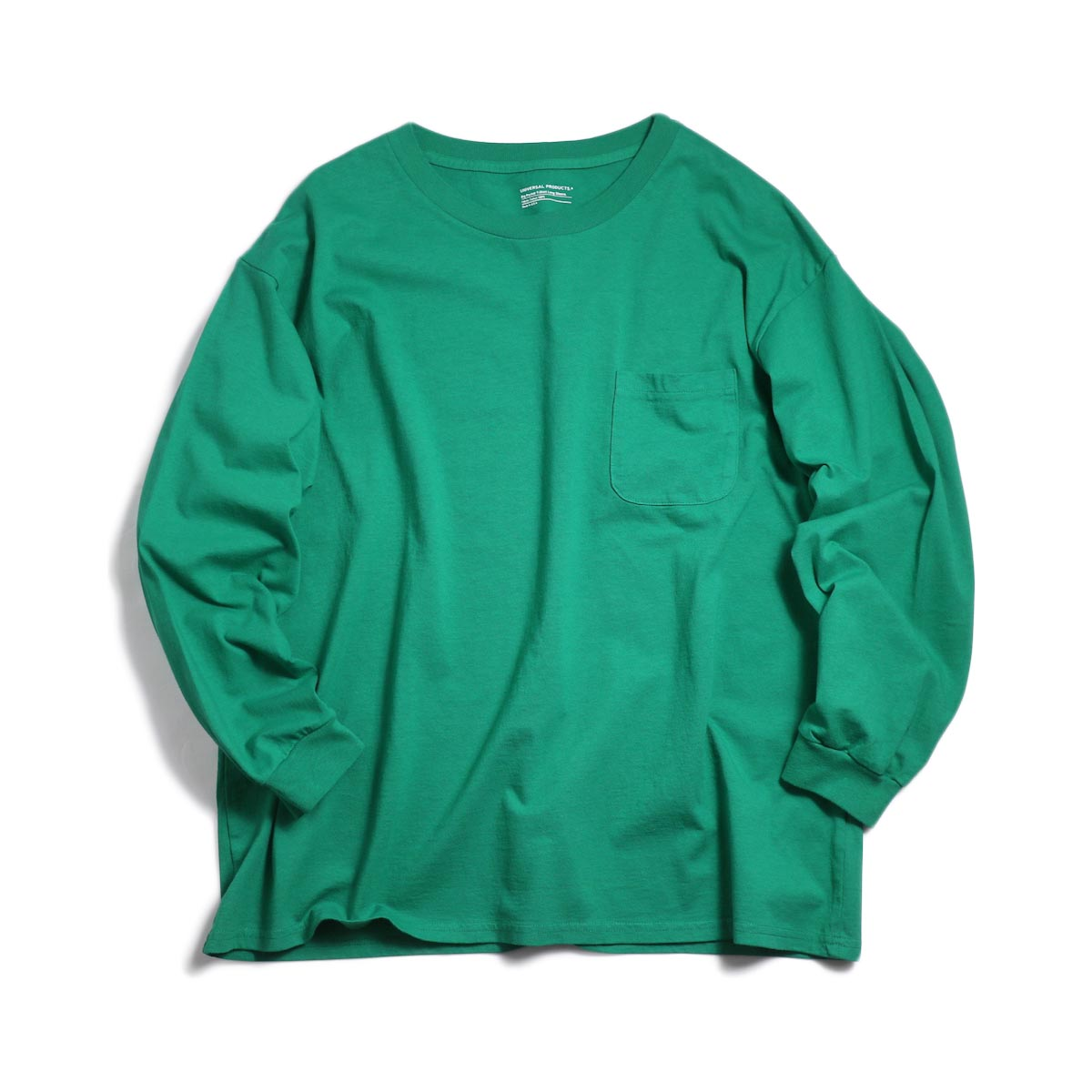 UNIVERSAL PRODUCTS / Heavy Weight L/S T-Shirt -Green