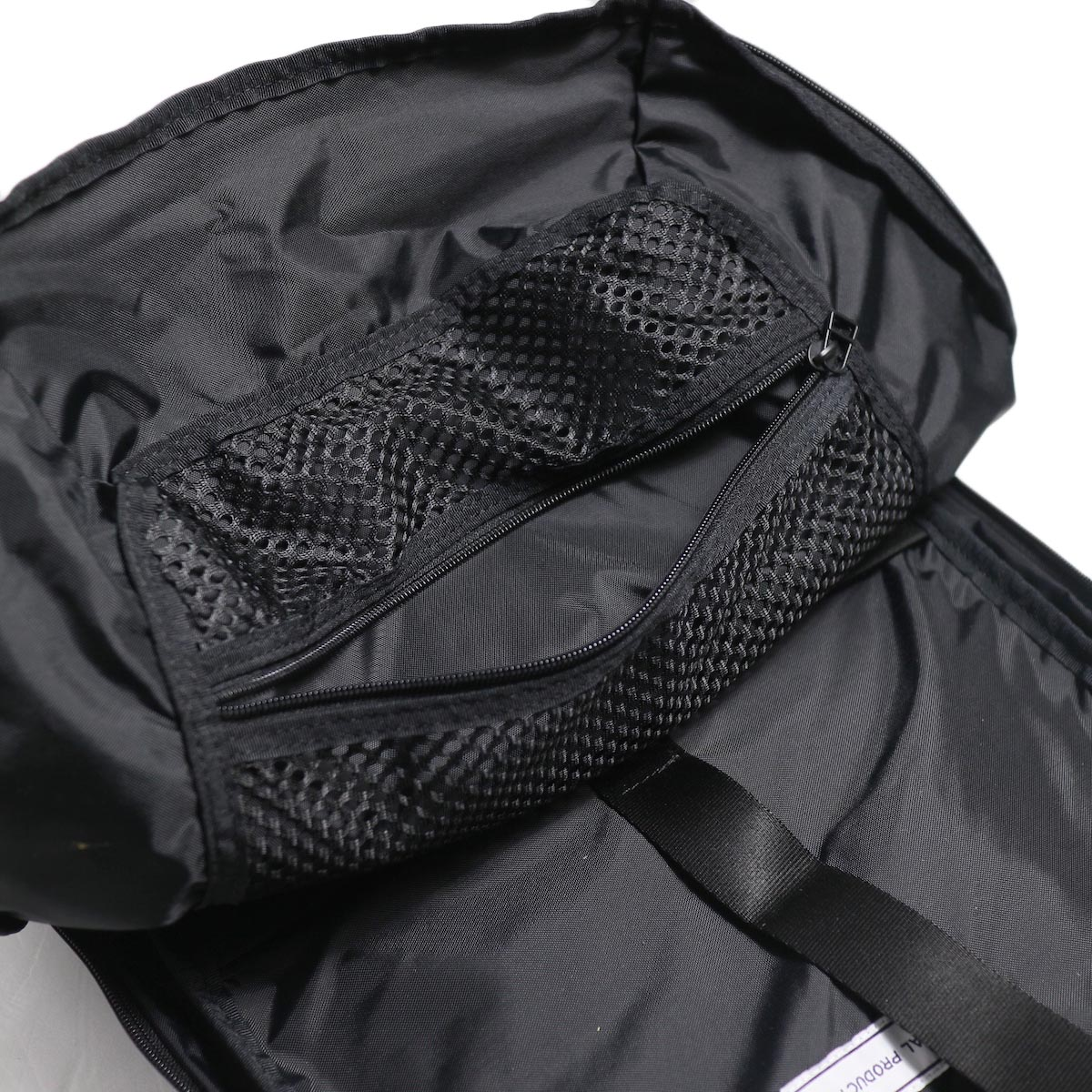 UNIVERSAL PRODUCTS / New Utility Bag -Black メッシュポケット