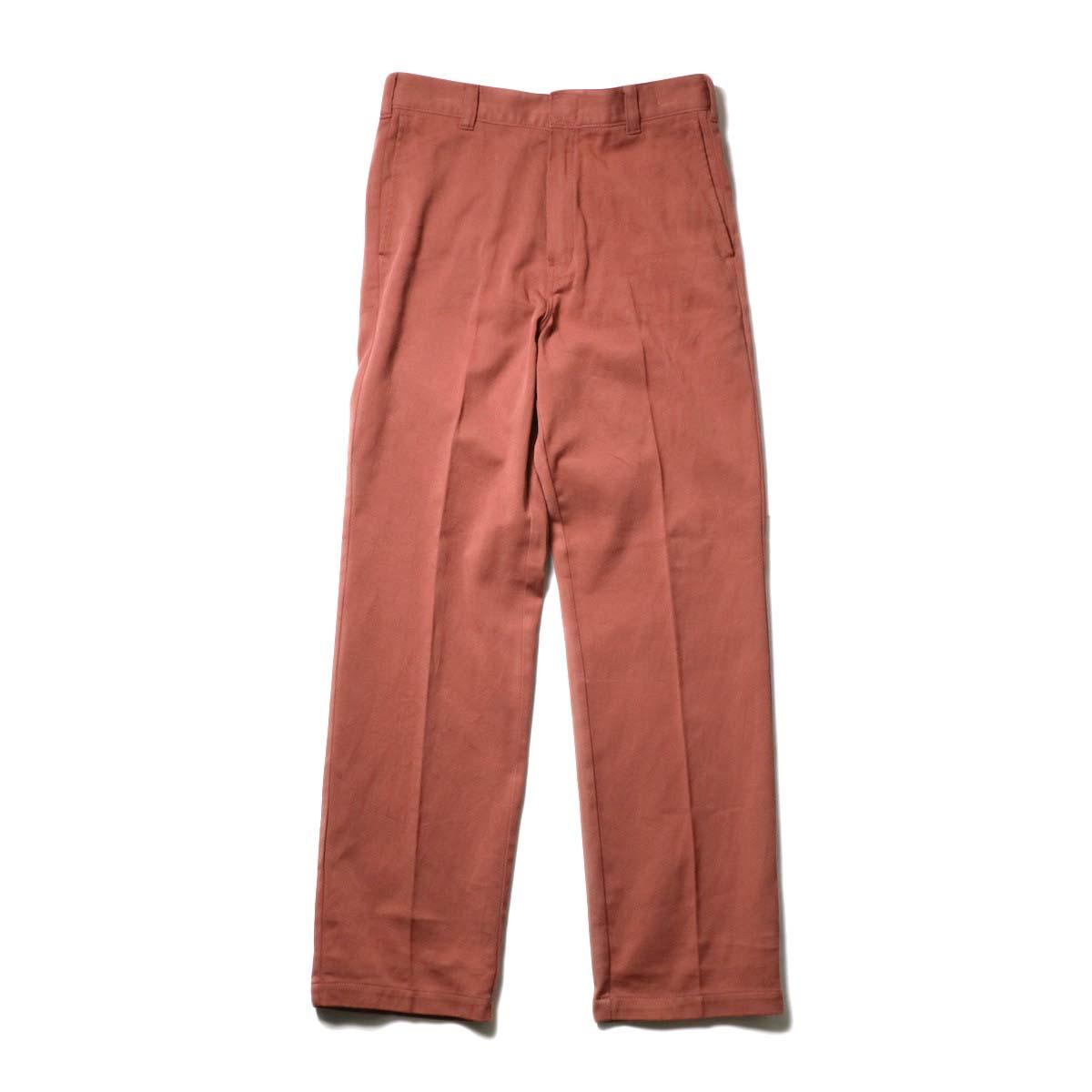 UNUSED × Dickies / UW0939 Cotton Linen Trousers (Orange)