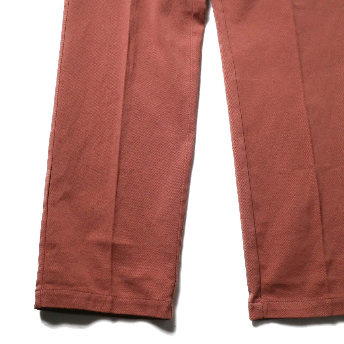 UNUSED × Dickies / UW0939 Cotton Linen Trousers (Orange) 裾