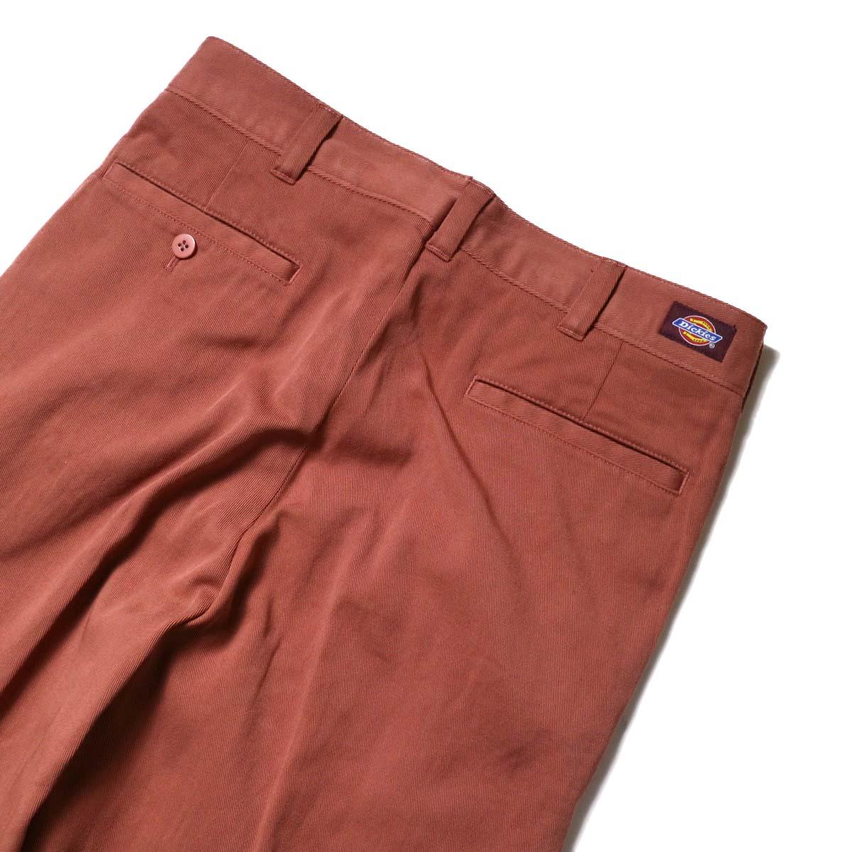 UNUSED × Dickies / UW0939 Cotton Linen Trousers (Orange)   ヒップポケット