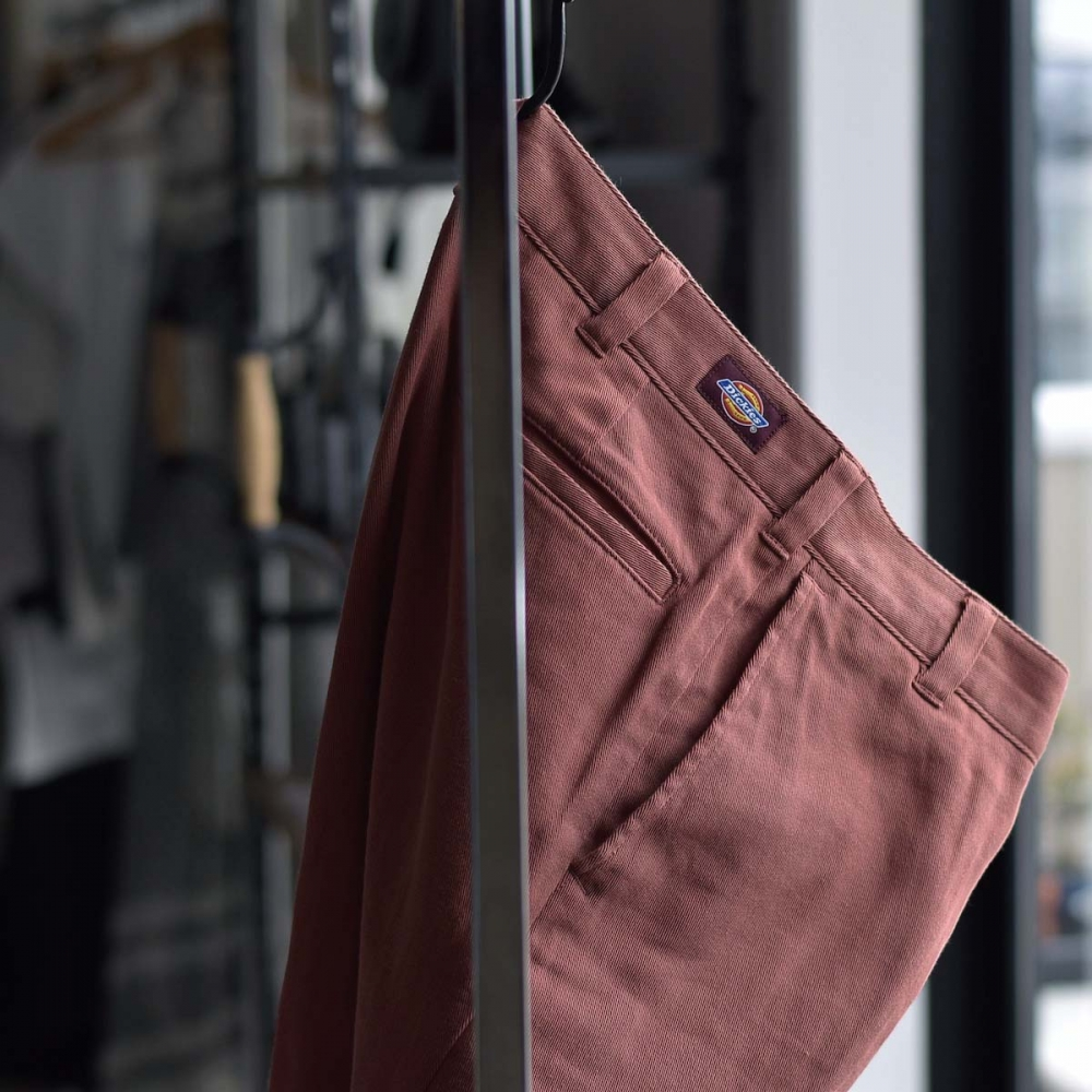 UNUSED × Dickies / UW0939 Cotton Linen Trousers (Orange)   色