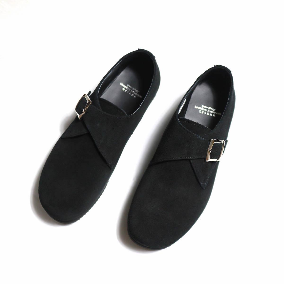 UNUSED × Suicoke  / UH0455 Leather Slip-on