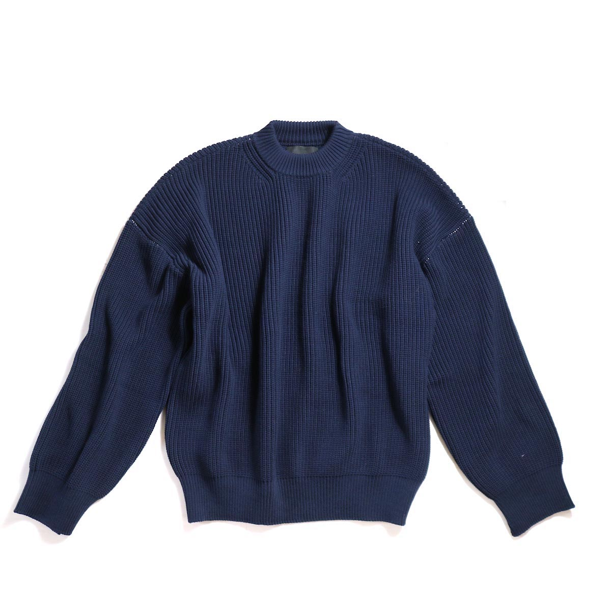UNUSED / US1412 BIG SIZE 5G KNIT -NAVY