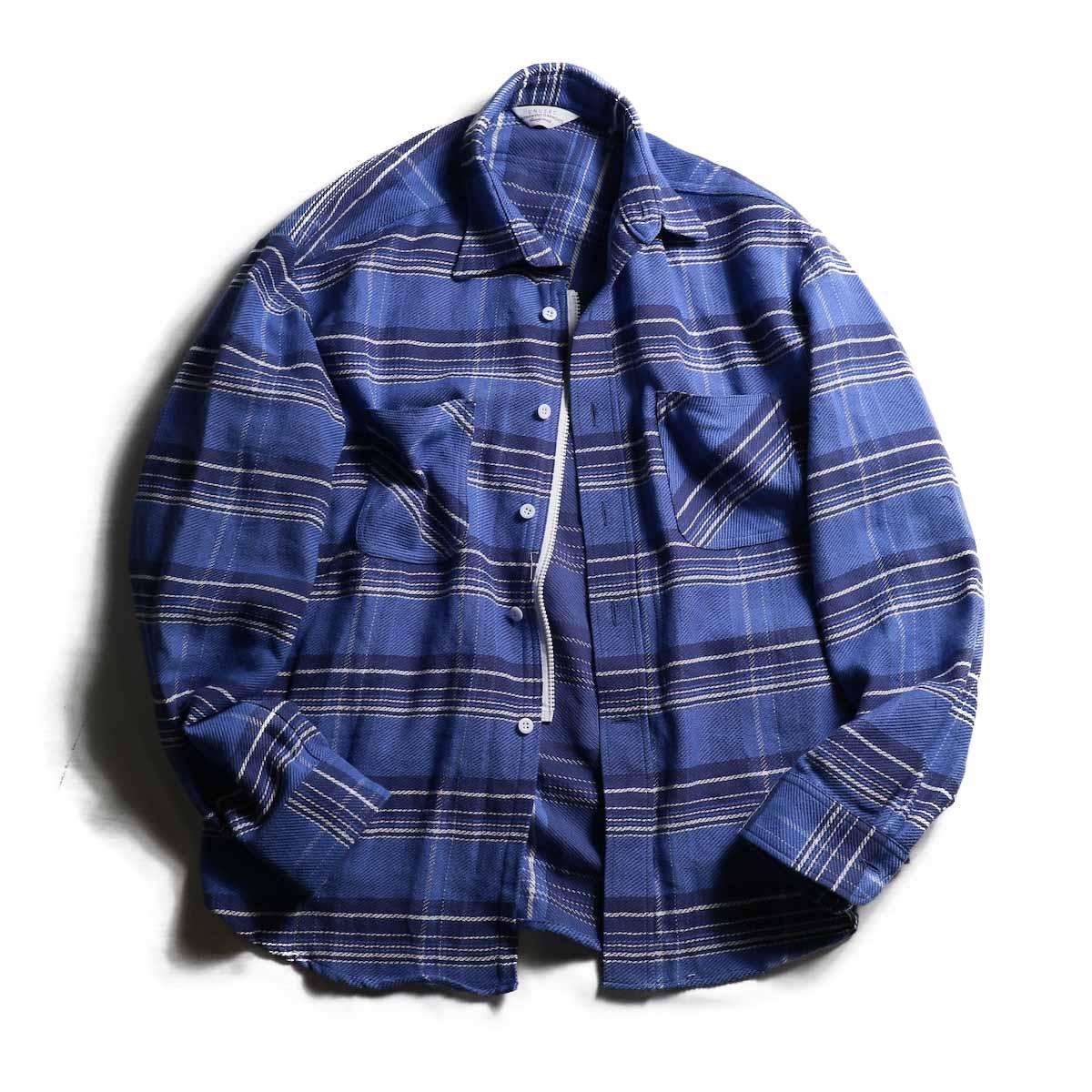 UNUSED / US1482 Check Nel Shirt
