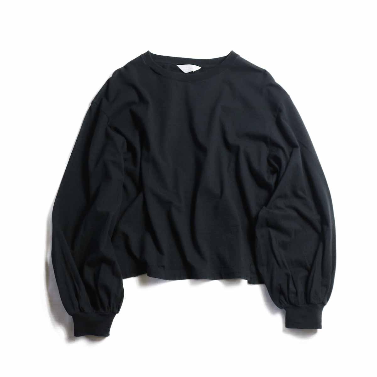 UNUSED Ladie's / US1504 Long Sleeve T-shirt  -BLACK