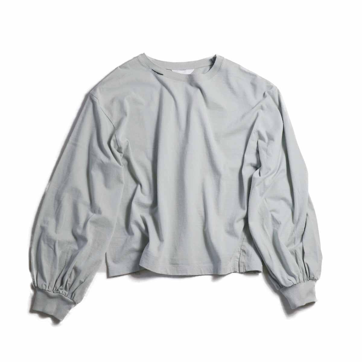 UNUSED Ladie's / US1504 Long Sleeve T-shirt  -STORM GRAY