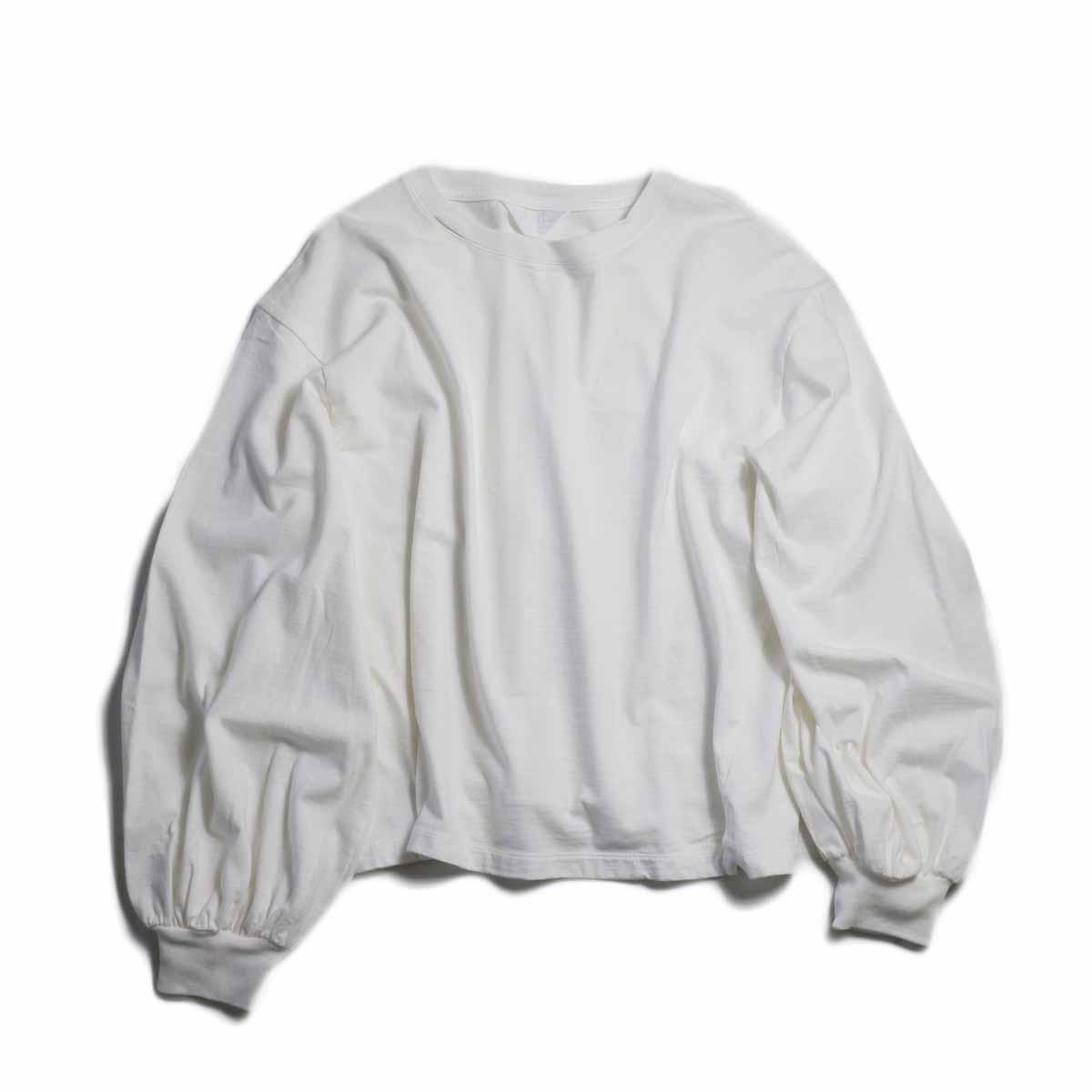 UNUSED Ladie's / US1504 Long Sleeve T-shirt  -WHITE