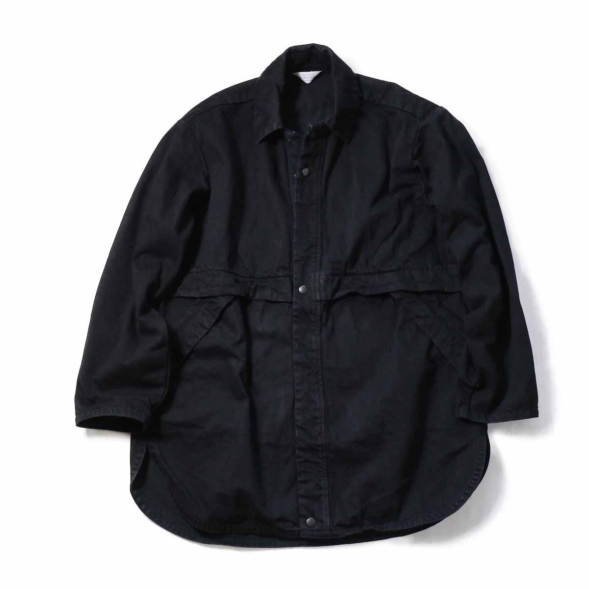 UNUSED / US1507 14oz Denim Jacket -BLACK