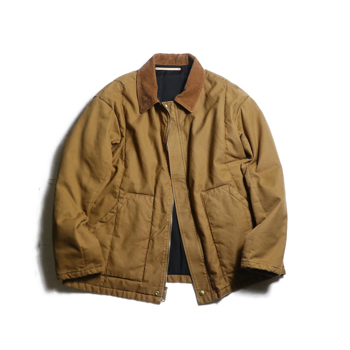 UNUSED / US1674 Duck Jacket (Brown)